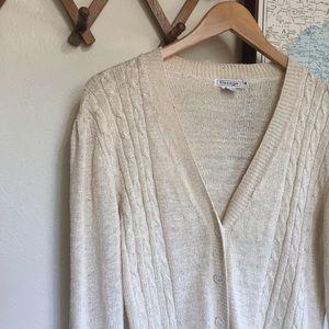 Vintage Silk Cardigan